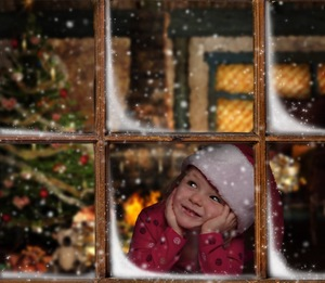 Ella's Wish: Ella anticipates the arrival of Santa Clause.