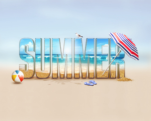 hello summer: summer, holiday, sea,  sand, beach
