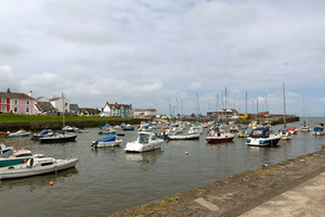 Harbour: A harbour in Pembrokeshire, Wales.
