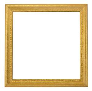 Square Gold Frame