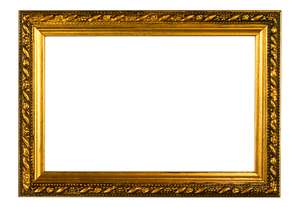 Gold Embossed Frame: This is my most popular frame.