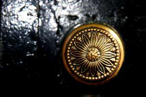 Bronze knob
