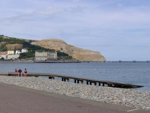 LLandudno 4:  a Views of Llandudno Pier and the Great OrmePlease let me know if you are using this image. A comment will suffice.