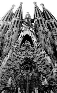 Sagrada Familia: A beautiful Gaudi cathedral in Barcelona - building began in 1820, and wont be complete until 2020. Thats some project! :)