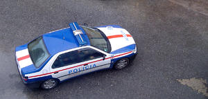 police car