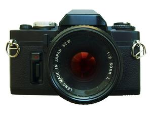 camera: vintage SLR camera.High resolution image available:http://www.stockxpert.com ..