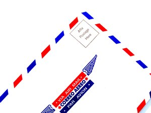 air mail: none