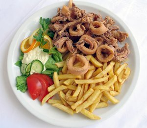 calamary meal