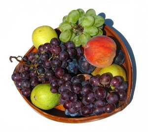 diverse fruits: none