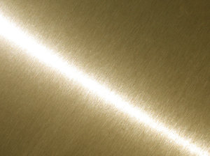 brushed golden metal texture
