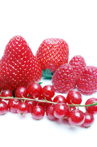 Red fruit.