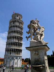 Leaning tower: Leaning tower of Pisa.