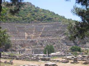 Theater: Theater of Efes, Turkey.