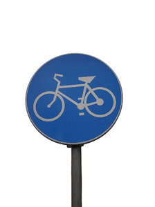 Bikes only!: Bicycle lane/path sign.Please mail me if you have used my photos. Just let me know what for!I would be extremely happy to see the final work even if you think it is nothing special! For me it is (and for my portfolio)!