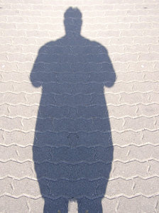 Fat Shadow man