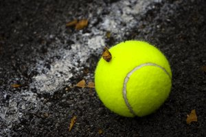 Tennis ball: Just a normal tennis ball