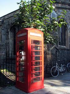British Phone Box 2