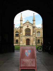 Cambridge, England 4: Corpus C
