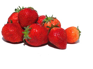 ripe strawberries 2