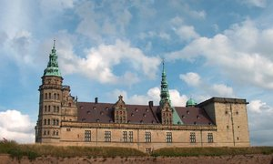 Kronborg Castle and fortress 2: Danish castle Kronborg in Helsingør, object from UNESCO list