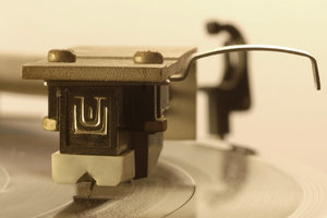 Gramophone close-up