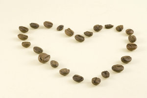 Coffee heart 1