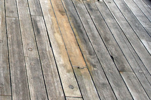 Old sail deck pattern
