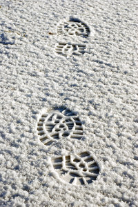 Footsteps in the snow 2