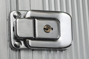 Lock of metal box 3