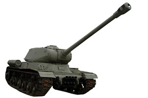 Soviet heavy tank from World W