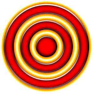 Concentric rings 4
