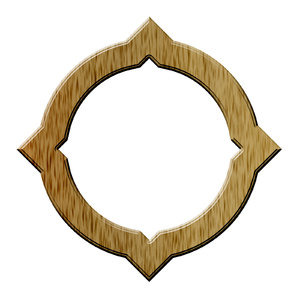 Circle decorative frame 1