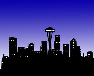 American City skyline 3: Seattle