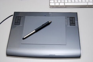 Graphics tablet  1