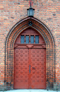 Neogothic church gate