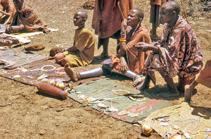 People from Maasai tribe 3