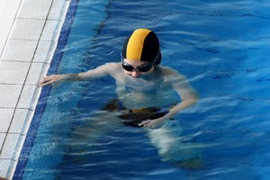 Lesson of swimming 2