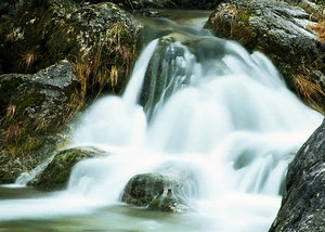 Running water_4: Water at the mount Pindos in Greece