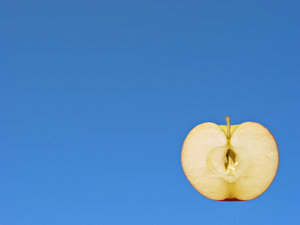 apple and blue 2