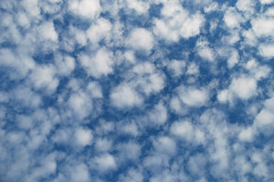 Altocumulus Clouds 2