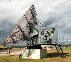 Radar Riese Wurzburg: Radar is an object detection system that uses electromagnetic waves to identify the range, altitude, direction, or speed of both moving and fixed objects such as aircraft, ships, motor vehicles, weather formations, and terrain.