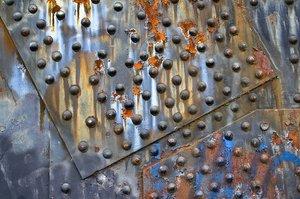 Steel Bridge rivets