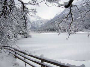 icy lake