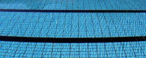 Pool 2: Pictures of water in a pool and the guidelines for swimmers.