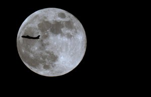 fly me to the moon: No manipulation.