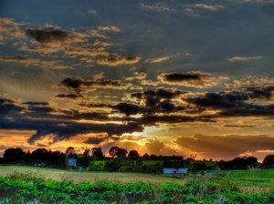 Sunset - HDR