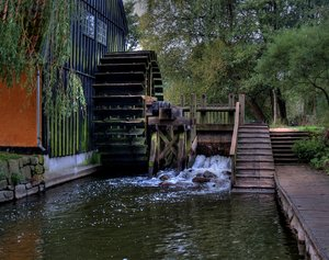 Old watermill - HDR