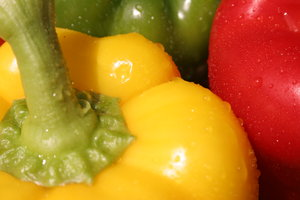 Close-up peppers