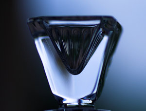 Pyramid glass