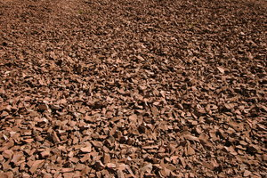 Rock Texture: Field of loose rocks for background texture
